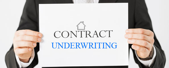 Contract underwriting