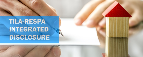 TILA-RESPA integrated disclosure rule