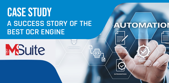A Success Story of the Best OCR Engine – M-Suite